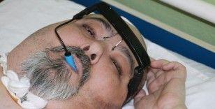 17 yıldır 'Yatan Adam'ın hayatı gözlük mouse ile değişti