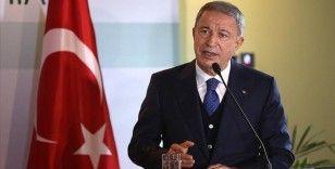 Milli Savunma Bakanı Akar'dan Yunanistan'a 'diyalog' çağrısı