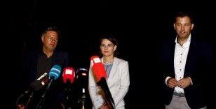 Almanya'da Yeşiller üç partili hükümet kurmak için görüşmelere başlamak istiyor