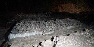 Sel, ikinci kez Kastamonu'yu vurdu, bazı köylere ulaşım kesildi