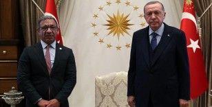 Cumhurbaşkanı Erdoğan, Parlamentolar Arası Birlik Başkanı Pacheco'yu kabul etti