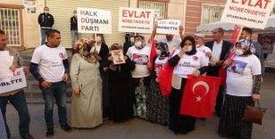 Evlat nöbetindeki ailelerin sesine ses katılmaya devam ediyor: 237'nci aile eyleme katıldı