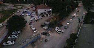 Bursa'da 120 polisle uyuşturucu operasyonu