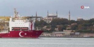 Yavuz sondaj gemisi Karadeniz'e geliyor