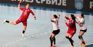 A Milli Kadın Hentbol Takımı, Sırbistan'a mağlup oldu