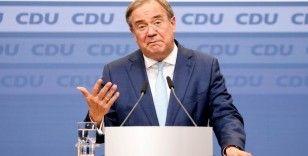 """CDU Genel Başkanı Laschet: """"Ülkem içi geri çekilmeye hazırım"""""""