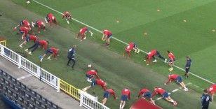 Norveç, Türkiye maçı hazırlıklarını tamamladı