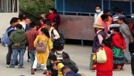 Nepal'de 2 haftalık festivalde başkentten şehir dışına insan akını başladı
