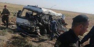 Kerkük'te meydana gelen trafik kazasında 2 polis öldü, 39'u yaralandı