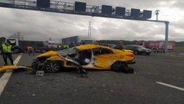 Çatalca'da feci kaza, 1 ölü 2 ağır yaralı