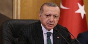 Cumhurbaşkanı Erdoğan, şehit Deniz Piyade Sözleşmeli Er Özköse'nin ailesine başsağlığı diledi