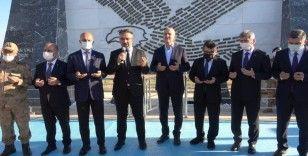 İçişleri Bakanı Soylu, Bayraktepe Şehitlik Anıtı'nın açılışına katıldı