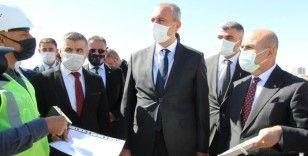 Adalet Bakanı Gül, Mardin'de yapılacak olan yeni adliye binası çalışmalarını yerinde inceledi