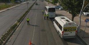 Aliağa'da drone destekli trafik denetimi: 25 sürücüye ceza