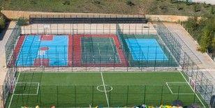 Herkes dilediğince spor yapabilsin diye Kastamonu Belediyesi  spor alanlarının sayısını arttırıyor