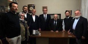 Sezai Karakoç'a Kahramanmaraş'tan fahri hemşehrilik beratı