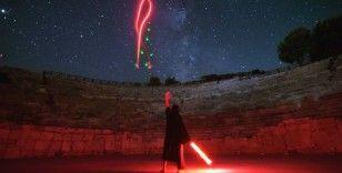 Patara Antik Kenti'nde Yıldız Savaşları rüzgarı