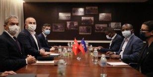 Dışişleri Bakanı Çavuşoğlu, Haiti Dışişleri Bakanı Joseph ile görüştü