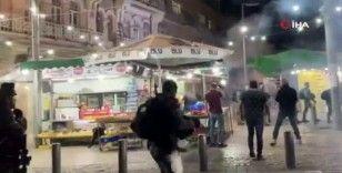 İsrail güçlerinden Kudüs'te Filistinlilere sert müdahale: 10 yaralı