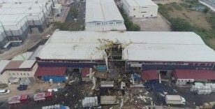 Bursa'da fabrikada patlama: 1 ölü, 2'si ağır 6 yaralı