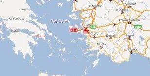 Yunanistan'daki deprem Aydın ve Muğla'da da hissedildi