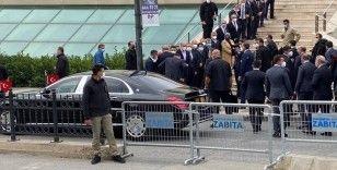 Cumhurbaşkanı Erdoğan, İsmet Uçma'nın cenazesine katıldı