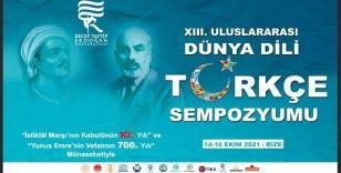 """YTB destekleriyle """"Uluslararası Dünya Dili Türkçe Sempozyumu"""""""