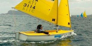 Büşra Nur Çelik yelkende dünya altıncısı oldu
