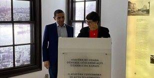 BioNTech'in kurucuları Türeci ve Şahin, Selanik'te Atatürk Evi'ni ziyaret etti