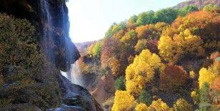 Dipsizgöl sonbahar güzelliği ile mest ediyor
