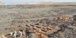 Libya'da 5 toplu mezarda 25 kişinin cansız bedenine ulaşıldı