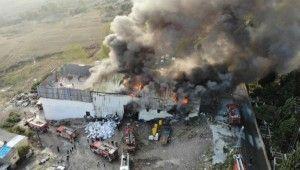 Avcılar'da tekstil atölyesinde yangın