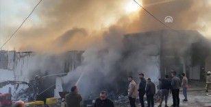 Avcılar'da geri dönüşüm tesisinde yangın