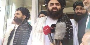 Taliban heyeti Kızılay'dan 'insani yardımların devam etmesini' talep etti