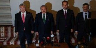 TBMM Başkanı Şentop: 'Güvensizlik ortamı oluşturmak, Türkiye'de terör örgütlerinin arzu ettiği bir iştir'