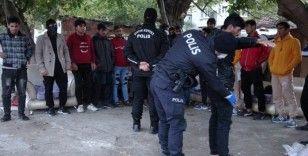 Tekirdağ'da çekçekçilere operasyon: 112 gözaltı