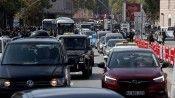 İBB'nin Beşiktaş Meydanı'ndaki çevre düzenlemesinden sonra artan trafik yoğunluğu tepki çekti