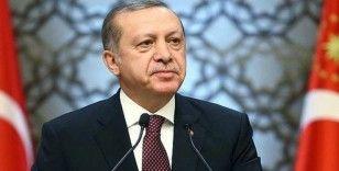 Cumhurbaşkanı Erdoğan Huber Köşkü'ne geldi