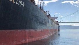 İzmit Körfezi'ni kirleten gemiye 3 milyon lira para cezası