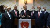 KKTC Cumhurbaşkanı Tatar: Belirli sayıda Türk askerinin mutlaka Kıbrıs'ta kalması gerekiyor