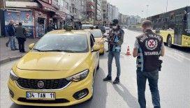İstanbul'da taksi denetimleri sürüyor