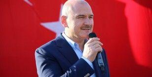 """Bakan Soylu: """"Amacımız, vatandaşımızın daha huzur ve güven içerisinde yaşamasını temin etmektir"""""""