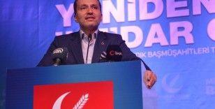 """Yeniden Refah Partisi Genel Başkanı Erbakan: """"İktidar olmayı hedefliyoruz"""""""