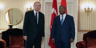 Cumhurbaşkanı Erdoğan: Angola'ya savunma sanayii konusunda her türlü desteği vermeye hazırız