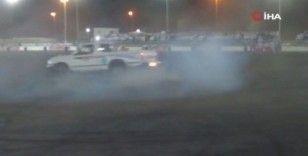 Kuveyt'te drift yarışı düzenlendi