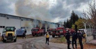 Eskişehir OSB'de fabrika yangını