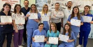 Türk hekimlerden Arnavutluk'ta nöroloji eğitimi