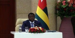 Togo Cumhurbaşkanı Gnassingbe: Şimdiye kadar kıtadan olmayan ama Afrika'yı bu kadar ziyaret eden bir lider hiç görmedik