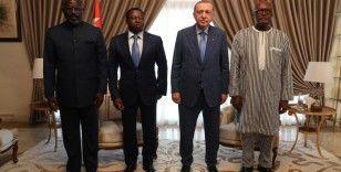 Türkiye, Togo, Burkina Faso ve Liberya'dan dörtlü zirve