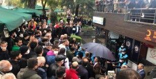 Trabzon şehir merkezinde gerginlik